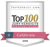 Top 100 Personal Injury Verdict in California