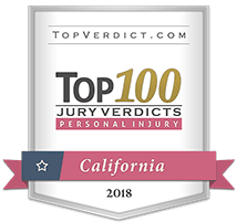 Top 100 Jury Verdicts in California  - Personal Injury 2018